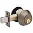 Schlage B600 Series Deadbolt - Grade 1 - Single Cylinder Outside, Turn Inside
