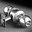 Yale 4300 Series - Single Cylinder Knob Lock - Grade 2 - Entrance