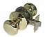 Schlage D Series - Grade 1 - Plymouth Door Knob - Passage