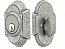 Emtek Wrought Steel No 1 Style Double Cylinder Deadbolt Lock