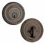 Design Elements Rondel Deadbolt - Single Cylinder