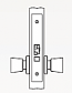Arrow AM Series Non-Keyed Mortise Lock - Grade 1 - Passage