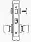 Arrow AM Series Non-Keyed Mortise Lock - Grade 1 - Privacy