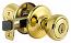 Kwikset Security Series Tylo Keyed Entry Door Knobset - Polished Brass