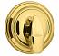 Kwikset Polished Brass Single Cylinder Deadbolt - Grade 1