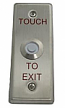 Exit Touch Switch with Red Illumiator Button
