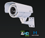 HYBRID AHD & Analog-Digital 1480x1080P Long Range Outdoor IR Bullet