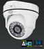 HYBRID AHD &Analog-Digital 1480x1080P Outdoor IR Dome Camera