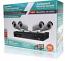 4 Channel Analog Hybrid 1080p DVR & 4 Bullet Camera Kit W/1 FREE TB