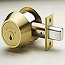 Medeco3 Single Cylinder Maxum Deadbolt Lock, Thumbturn