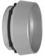 Adams Rite Cylinder Guard Satin Aluminum Finish