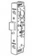 Adams Rite Heavy Duty Deadlatch with Flat & Radius Faceplate
