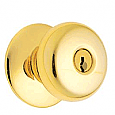 Schlage D Series - Grade 1 - Plymouth Door Knob - Entrance