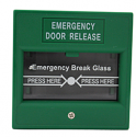 Emergency Door Release Break Glass Station