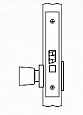 Arrow AM Series Non-Keyed Mortise Lock - Grade 1 - Exit