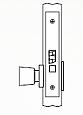 Arrow AM Series Non-Keyed Mortise Lock - Grade 1 - Exit