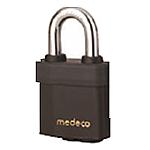 Medeco3 Indoor/Outdoor Padlock 7/16in Boron Alloy Steel Shackle-KIK Cylinder