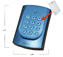 Proximity Card Reader with Keypad, Buzzer & LED