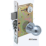 Arrow AM Series Mortise Lock - Double Cylinder - Vestibule