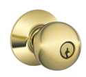 Orbit Knob Keyed Entry Lock With Medeco Cylinder