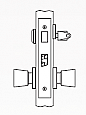 Arrow AM Series Single Cylinder Mortise Lock - Grade 1 - Dormitory