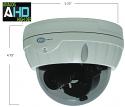 HYBRID AHD & Analog-Digital 1480x1080p Outdoor IR Dome Camera