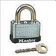 Master Lock Steel Warded Padlock No. 22KA