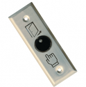 Slim Line Size Button Push to Exit - Illuminated