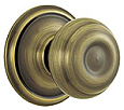 Schlage A-Series Door Knobset - Grade 2 - Georgian - Passage