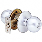 Arrow S Series - Grade 1 - Single Cylinder Door Knob - Passage