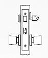 Arrow AM Series Single Cylinder Mortise Lock - Grade 1 - Entrance