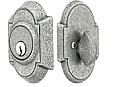 Emtek Wrought Steel No 1 Style Double Cylinder Deadbolt Lock