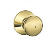 Schlage D Series - Grade 1 - Plymouth Door Knob - Privacy