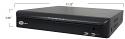 6-Way Hybrid Standalone DVR (1080P SDI / 720P SDI / A-HD 1080 / A-HD 720 / 960H / ANALOG)