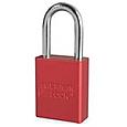 Red Aluminum Padlock-A1105