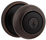 Kwikset Hancock Keyed Entry Knobset from the Signature Collection