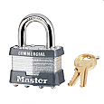 Master Lock Steel Padlock No. 22KA - 15/16in Shackle
