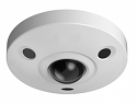 4K Ultra HD Vandal-Proof IR Network Fisheye Camera 12MP