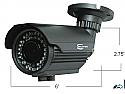 HD-SDI CCTV Bullet Camera -  w/1080p (1929 x 1080)