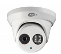 Outdoor IP Turret Camera - 3MP Network EXIR Super Beam LED