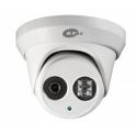 Outdoor IP Turret Camera - 3MP Network EXIR Super Beam LED