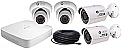 8 Channel NVR + 2 IP Camera Bullet Cameras + 2 IP Dome Cameras