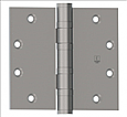 Hagar 4.5in x 4.5in Heavy Weight 8 Hold Ball Bearing Hinge - NRP