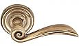 Emtek Elan Designer Brass Passage Leverset