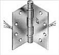 Hagar Electrified Hinge - 8 Wire - 4.5in x 4.5in - BB1279 1108