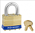 Master Lock Brass Padlock No. 2KA - 15/16inch Shackle-ML2KA