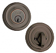 Design Elements Rondel Deadbolt - Single Cylinder
