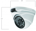 SDI Outdoor IR Turret Dome Camera - 1080p (1920 x 1080)