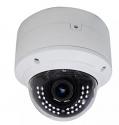 Indoor IP Dome Camera - 2.8 ~ 12 mm Motorized Lens