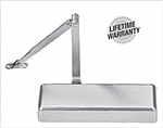 Hagar-5100 Heavy Duty Parallel Arm Mount Surface Door Closer - Grade 1